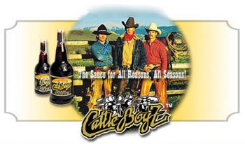 Logo and link to Cattle Boyz BBQ sauces