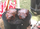 Barbecue image and link to Ron Shewchuk's barbecue home page